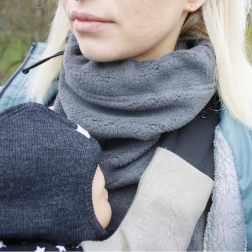 wärmt Brust- und Nackenbereich