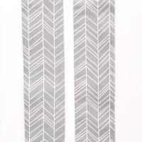 Blenden Webstoff Geo Pfeile Grau