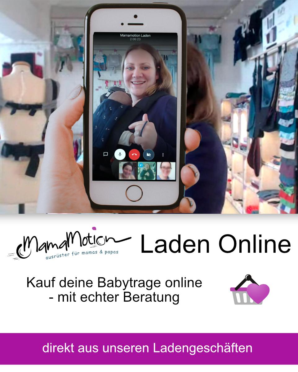Online Kaufberatung zu Babytragehilfen