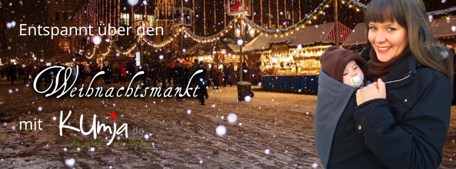 Mit Kumja über den Weihnachtsmarkt